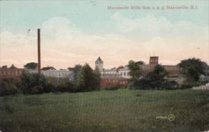 Harrisville Mills Nos 1 2 & 3 Harrisville Rhode Island 1909