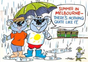 Australia Summer in Melbourne There's nothing quite like it. Tram