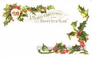 Santa Claus, Christmas, Postcard Postcards
