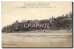 Postcard Old Emerald Coast Edges Rance Plouer Port Saint Hubert