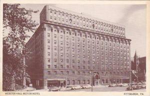 Webster Hall Motor Hotel, Pittsburgh, Pennsylvania, 1910-1920s