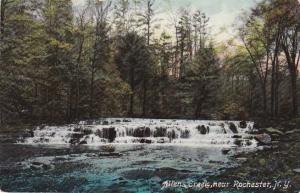 Falls on Allens Creek near - Rochester, New York - DB
