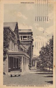 Spencer Building, North Carolina College for Women, Greensboro, North Carolin...