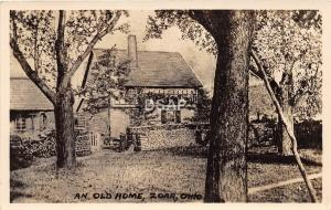C45/ Zoar Tuscarawas Ohio Postcard Real Photo RPPC c1930s An Old Home