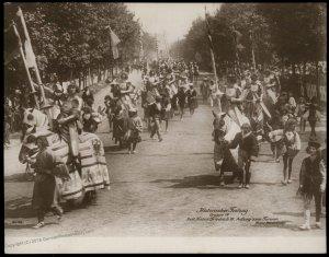 Austria 1908 Kaiser Franz Joseph Huldigungs Festival RPPC Friedrich III 94840