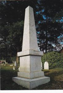 Monument Of Colonel Jonathan Buck Founder Of Bucksport Maine