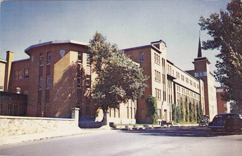 Ecole Technique, Rimouski, Quebec, Canada, 1940-1960s