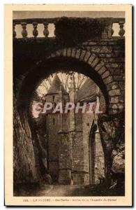Old Postcard The Arch St. Barbara Faouet Chapel St Michel
