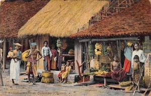 Sri Lanka, Ceylon, Colombo, Native Boutiques 1909