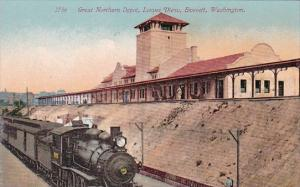 Great Northern Depot Lower View Everett Washington