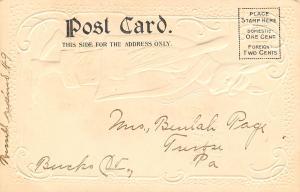 Easter Fantasy~Dressed Rabbit in Suit & Hat~Shoes~Baseball Bat in Pocket~1905
