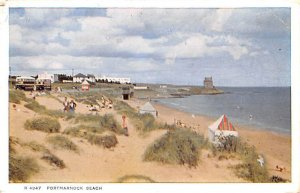 Portmarnock Beach Scotland, UK 1960