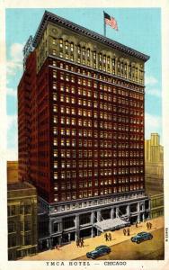 Illinois Chicago The Y M C A Hotel Curteich