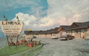Cap Chat ,GASPE, Quebec, 1950-60s ; Lindya Motel