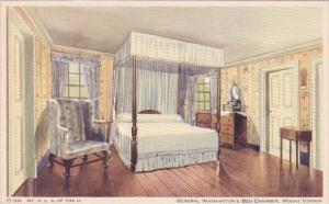 Virginia Mount Vernon General Washington's Bed Chamber Mount Vernon