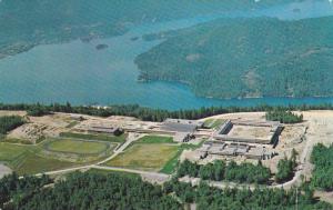 Aerial view,  Simon Fraser University,  Burnaby 2.,  B.C.,  Canada,  40-60s