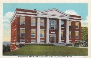 Maine Bucksport Morris Hall East Maine Conference Seminary 1944
