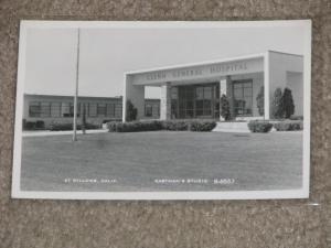 RPPC, Glenn General Hospital, At Willows, Calif., Unused