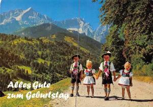 Alles Gute zum Geburtstag Garmisch Partenkirchen Berg Mountain Landscape