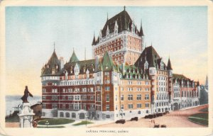 Chateau Frontenac Quebec Canada Castle White Border Unposted Postcard