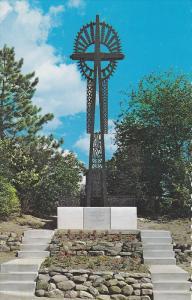Monument Cross, Lithuanian Pilgrims, Martyr's Shire, MIDLAND, Ontario, Canada...