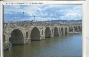 Postal 5081 : Puente romano sobre el Guadiana en Merida