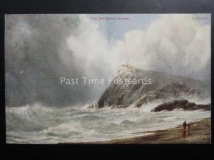 Netherlands THE GATHERING STORM Artist F. Hall - Old Postcard