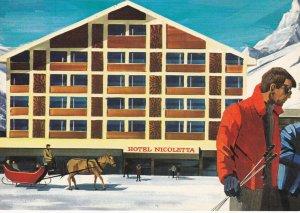 WALLIS , Switzerland , 1950-70s ; Hotel Nicoletta