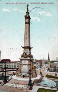 Indy Vintage Postcard