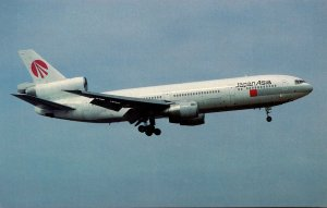 Japan Asia McDonnell Douglas DC-10-40 At Kai Tak Airport Hong Kong
