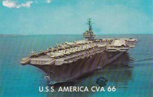 U S S Aircraft Carrier America CVA-66