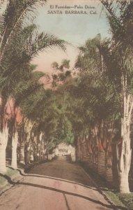SANTA BARBARA , California , 1920-30s; El Fureides, Palm Drive