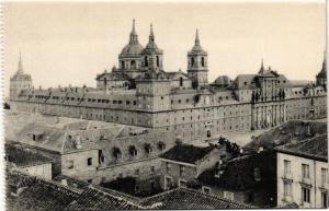 CPA El Escorial Real Monasterio, Vista general SPAIN (744279)