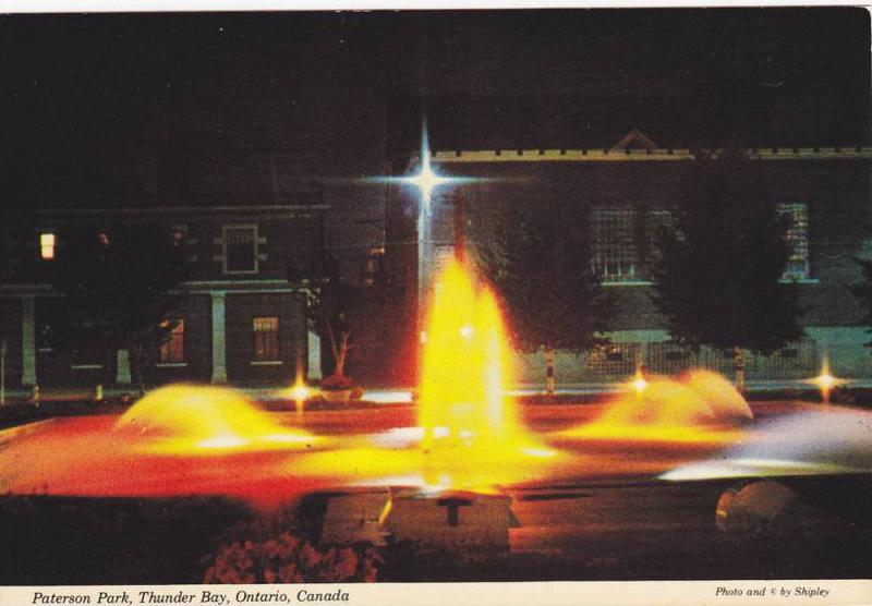 Paterson Park, Thunder Bay, Ontario, Canada, 1970-80s