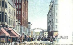 Morrison Street Portland OR Unused