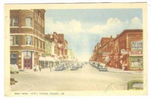 Main Street,Drug stores,Orillia,Ontario, Canada,PU-1947