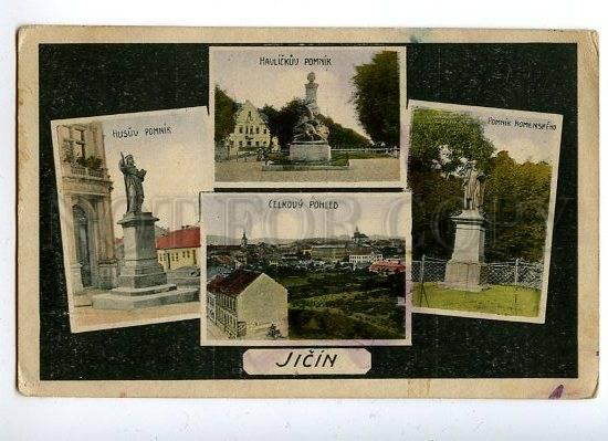 129740 Czech Republic JICIN Views Titschein Gitschin OLD PC