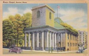 Massachusetts Boston Kings Chapel 1947