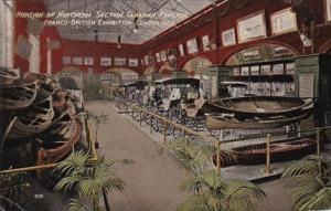 Franco-British Exhibition London 1908 Portion Of Northern Section Canadian Pa...