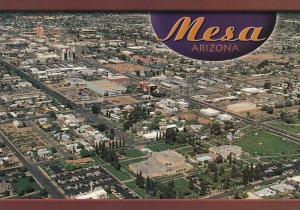 Arizona Mesa Aerial View