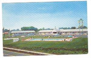 Town House Motel, Swimming Pool, Hightstown, New Jersey, 1940-1960s