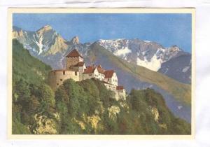 Principality of Liechtenstein, CASTLE VADUZ, PU-1958