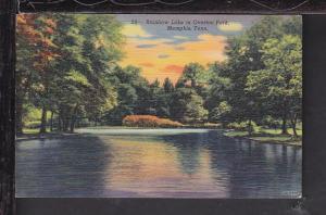 Rainbow Lake,Overton Park,Memphis,TN Postcard