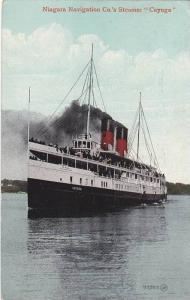 Niagara Navigation Co´s Steamer CUYUGA , PU-1912 :  #3