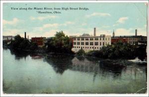 OH - Miami River, High St Bridge, Hamilton