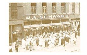 Advertising Post Card A Schwab, Department Store Memphis, TN, USA Reproductio...