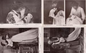 Matheson Lang Romeo & Juliet 4 x Real Photo Postcard s