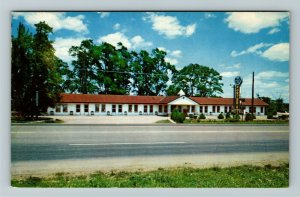 Richmond IN- Indiana, Porter's Motel, Street View, Hotel, Chrome Postcard
