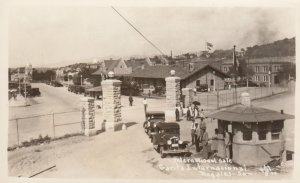 RP: International Gate, NOGALES - Son. , Mexico , 1930-40s
