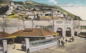 Gibraltar,Moorish Market and Casemates Gate, 00-10s
